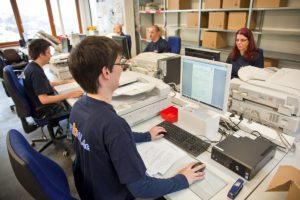 Digitalisieren von Akten -Arbeitsplätze