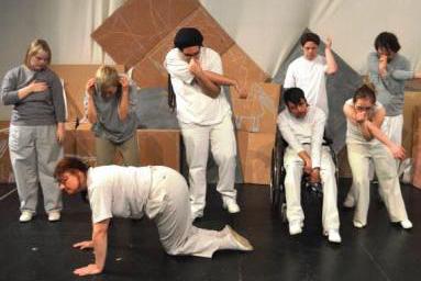Theaterwerkstatt Thikwa - Probe
