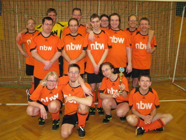 Bild der nbw Fußballmannschaft