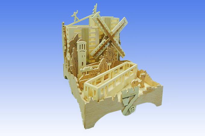 Holzbearbeitung - Büroset für Ordnung auf dem Schreibtisch aus dem Bereich Kreativ Holz
