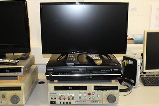 Videorecorder zum Digitalisieren von alten Videobändern