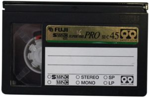 Bild einer VHS-C Kassette